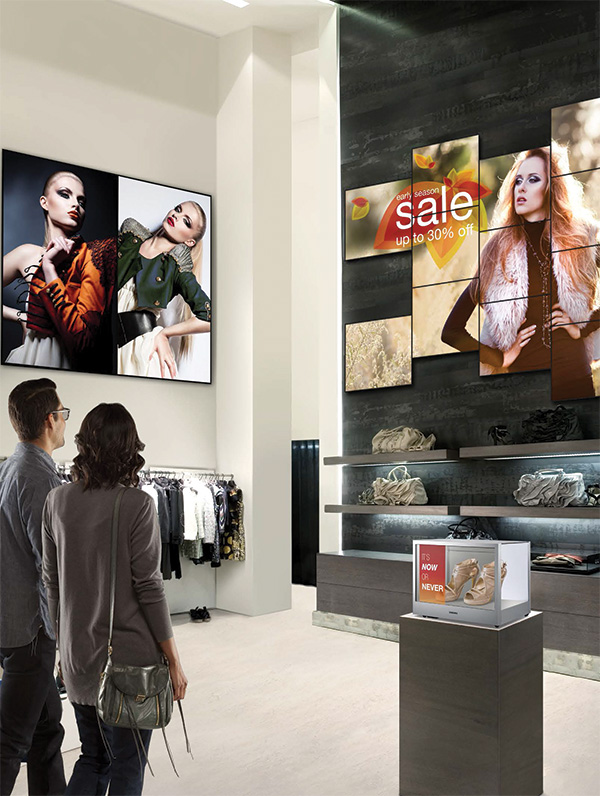 Videowall, digital signage